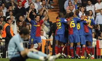 1bc95e929 في الكلاسيكو – حين ارتدى لاعبو برشلونة