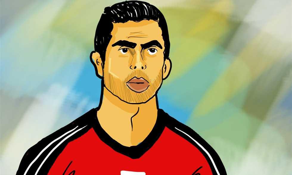 FilGoal   أخبار   تاريخ الكرة المصرية المدون على وجه أحمد فتحي