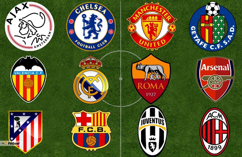 شعارات الأندية الاوروبية