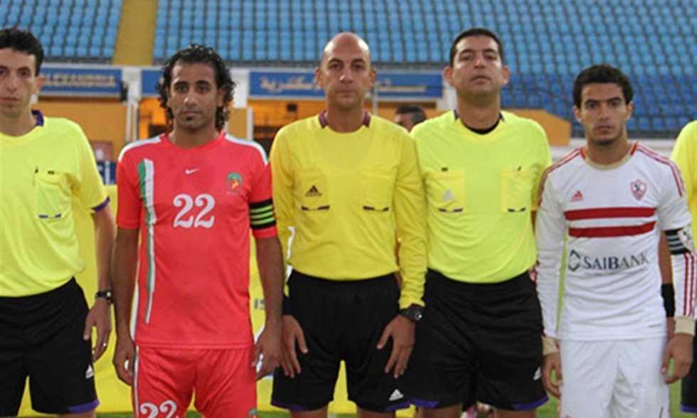FilGoal   أخبار   سجل جيد للزمالك مع محمد عادل حكم مباراته أمام النجوم