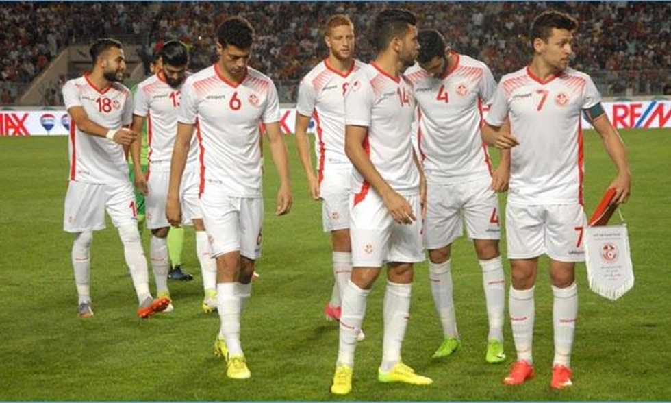 FilGoal   أخبار   صورة - المساكني يدعم تونس في روسيا قبل مواجهة إنجلترا