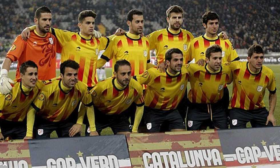 Filgoal أخبار ماذا لو انفصلوا تشكيل تخيلي لمنتخب كتالونيا