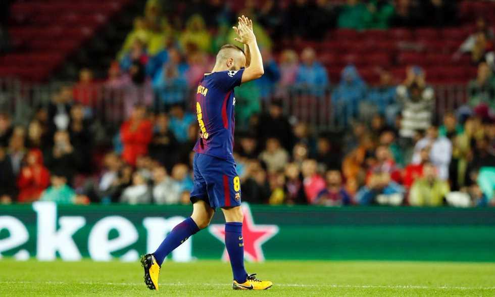 FilGoal   أخبار   بالفيديو - رائعة كوتينيو تنهي موسم برشلونة بالفوز في وداعية إنيستا