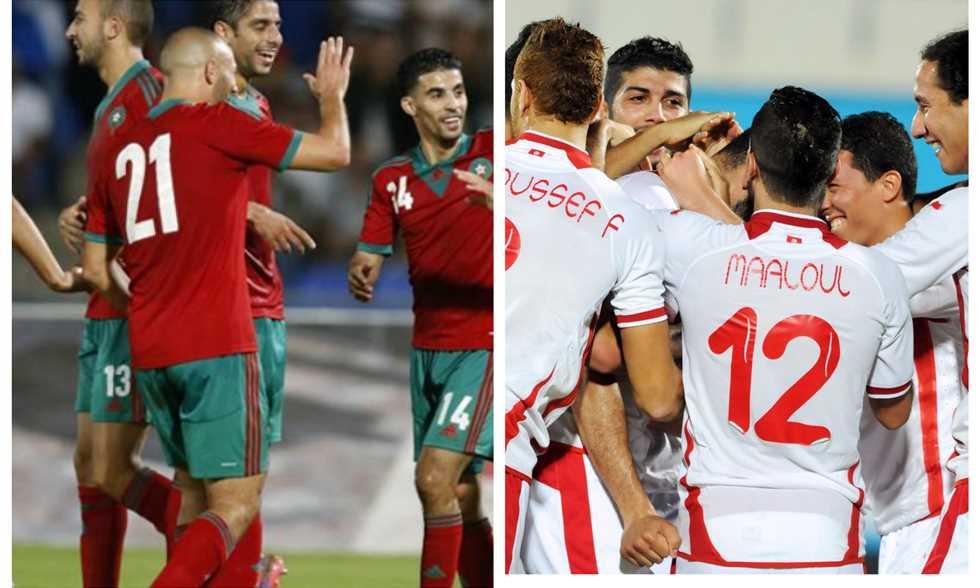 تونس والمغرب بث مباشر