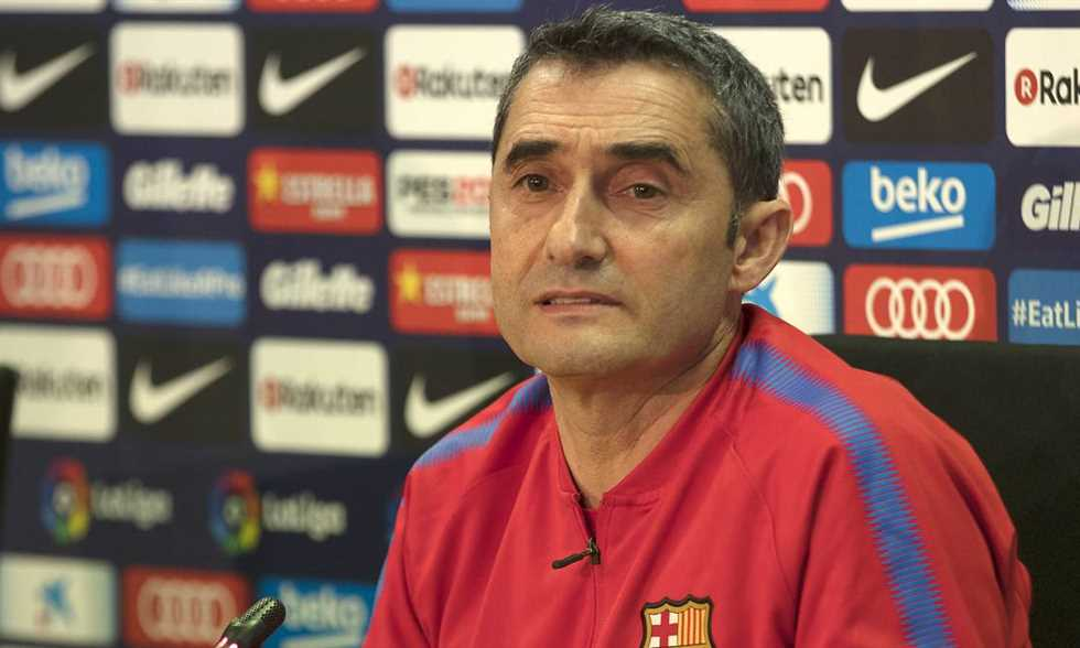 FilGoal   أخبار   مؤتمر فالفيردي: برشلونة في المجموعة الأصعب.. ولا وقت للراحة