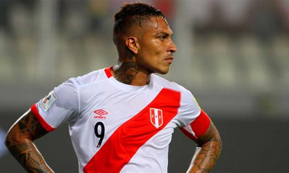 جيريرو يقود قائمة بيرو النهائية للمونديال