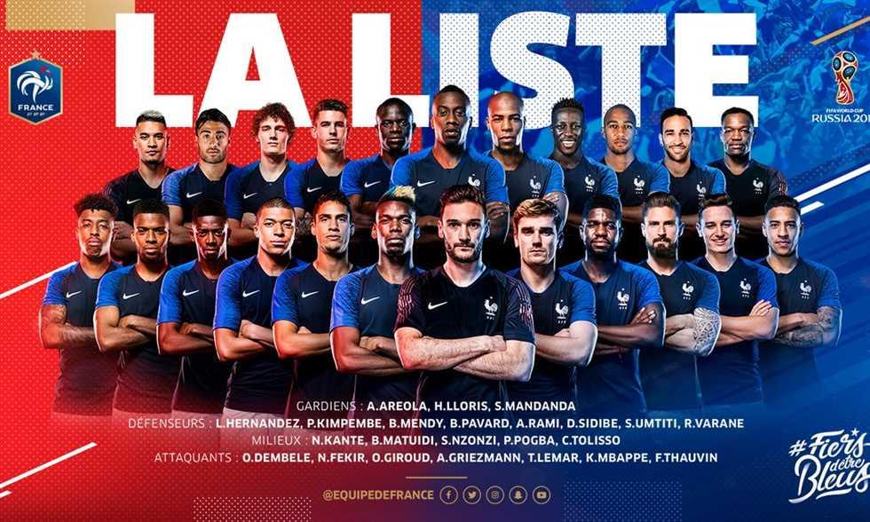 نبيل فقير ضمن قائمة نارية لـ فرنسا في كأس العالم