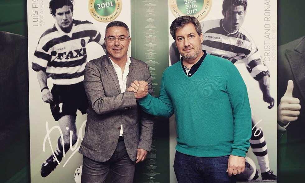 FilGoal   أخبار   رسميا – مدرب الزمالك الأسبق مدير رياضي لفريق سبورتنج لشبونة