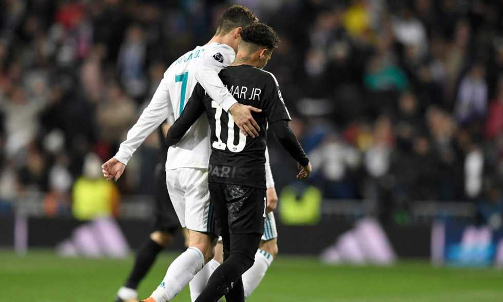 FilGoal   أخبار   تقرير: رونالدو منزعج من مفاوضات ريال مدريد مع نيمار