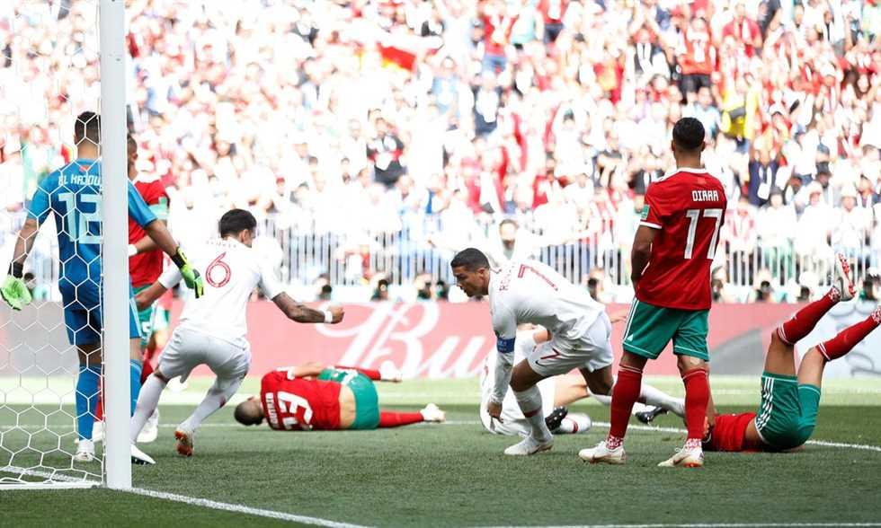 FilGoal   أخبار   كريستيانو رونالدو رجل مباراة البرتغال والمغرب
