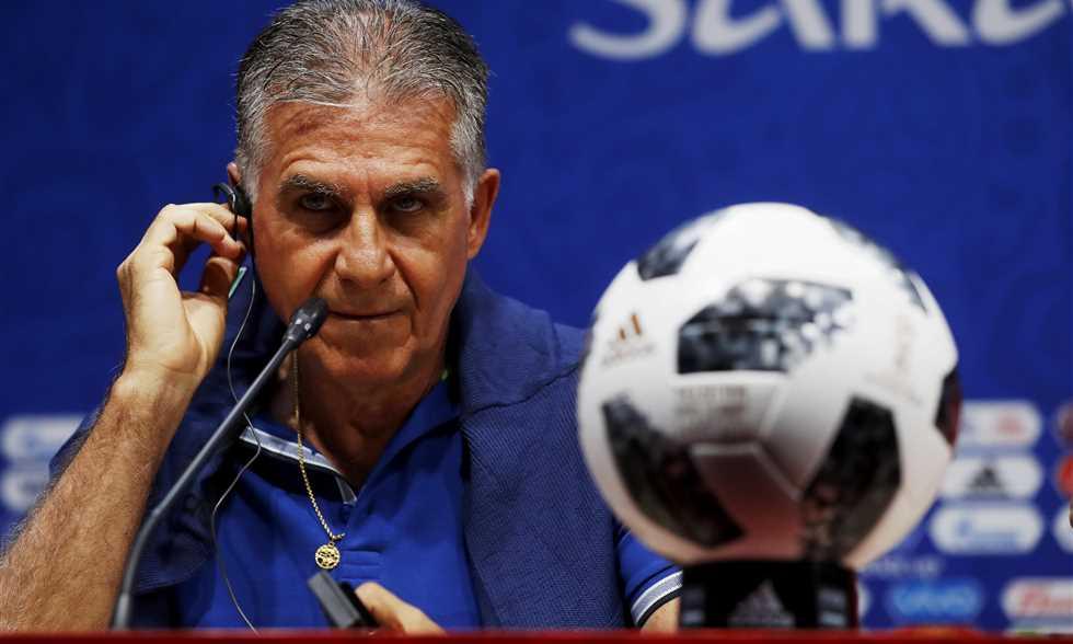 FilGoal   أخبار   مؤتمر  في_روسيا - مدرب إيران: اللعب ضد رونالدو حلم للاعبي فريقي