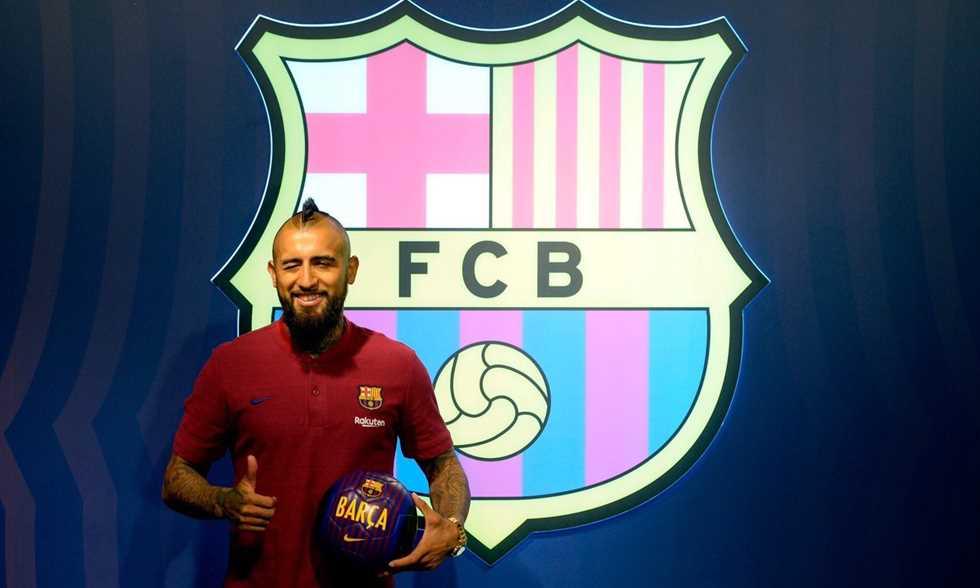 FilGoal   أخبار   فيدال: أريد الفوز بكل شيء مع برشلونة.. أتطلع لمجاورة ميسي