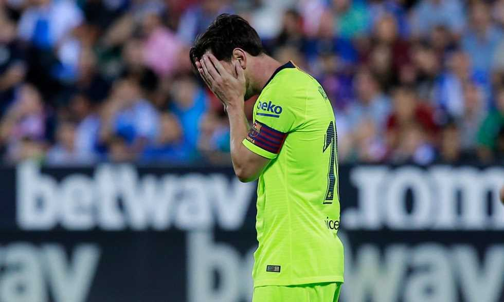 FilGoal   أخبار   ميسي: برشلونة لا يعتمد علي.. يجب أن نتحسن دفاعيا