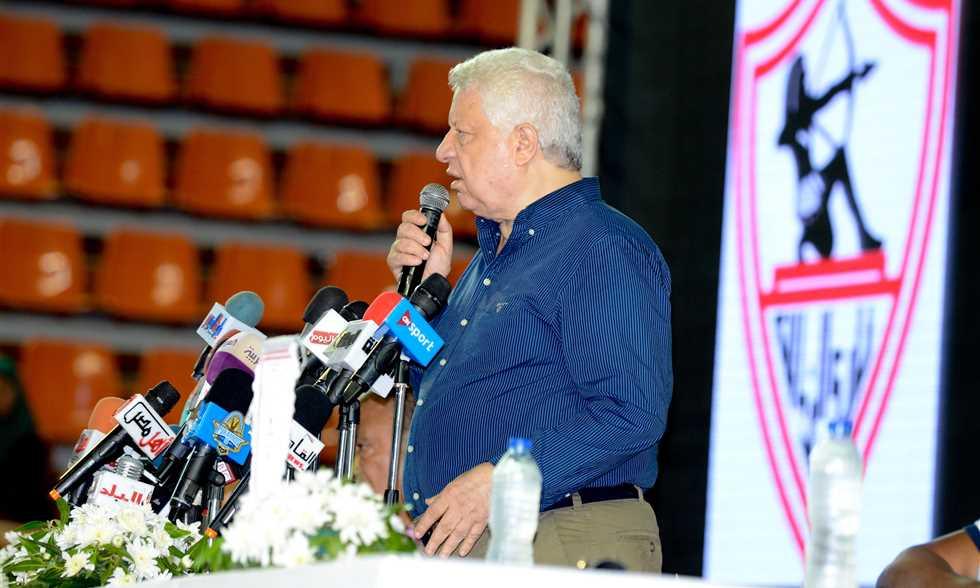 FilGoal   أخبار   مرتضى منصور يعلن عقد مؤتمر صحفي الاثنين