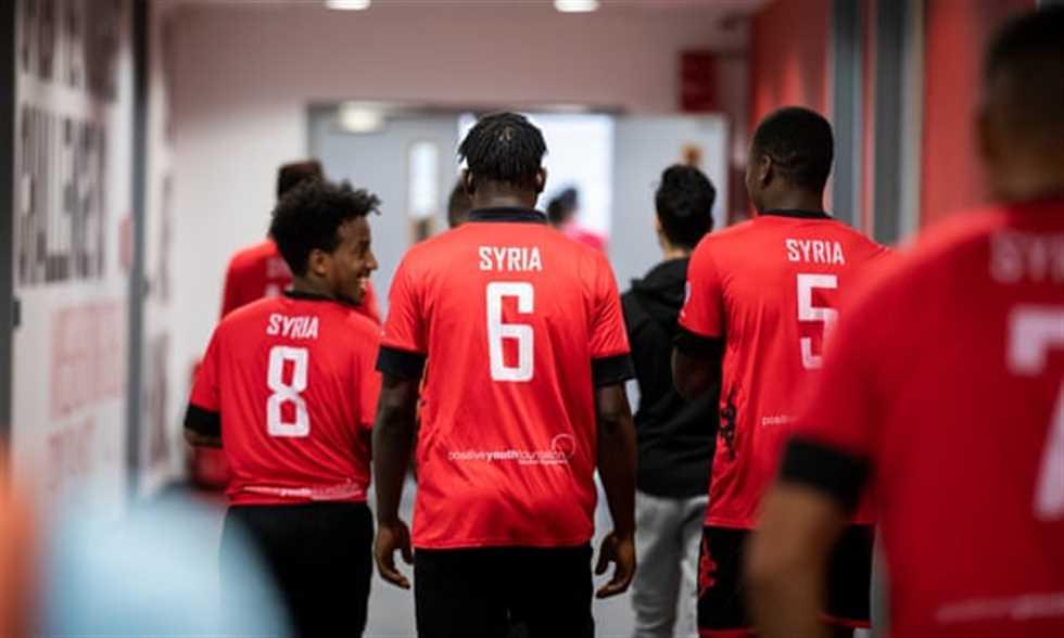 FilGoal   أخبار   فريق سوريا.. عندما تمنح كرة القدم معنى جديدا لحياة لاجئ