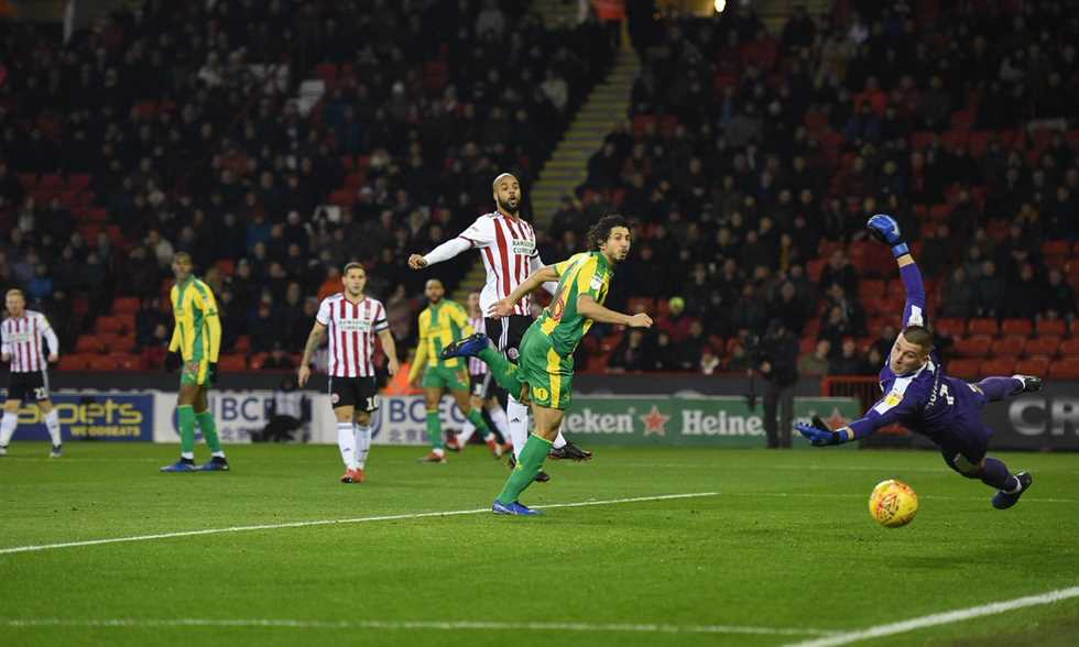 Photos - Hijazi present ... West Brom delayed the delay and doubled to third place - in Joule