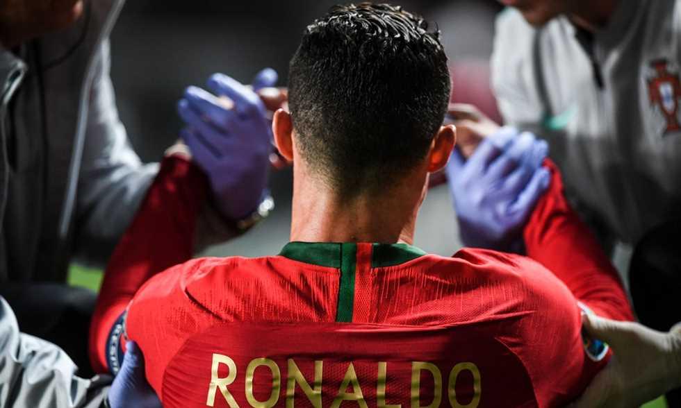 FilGoal   أخبار   رونالدو عن إصابته: أعرف جسدي جيدا فلا تقلقوا.. سأعود بعد أسبوع أو أسبوعين