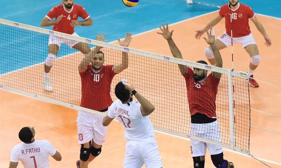 صورة كرة طائرة – الأهلي والزمالك إلى نهائي كأس مصر