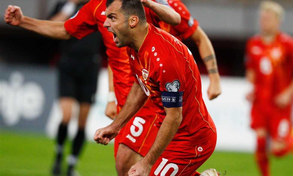 FilGoal | أخبار | قائمة مقدونيا – حضور الأسطورة بانديف.. وأليوسكي يقود  الدفاع في يورو 2020