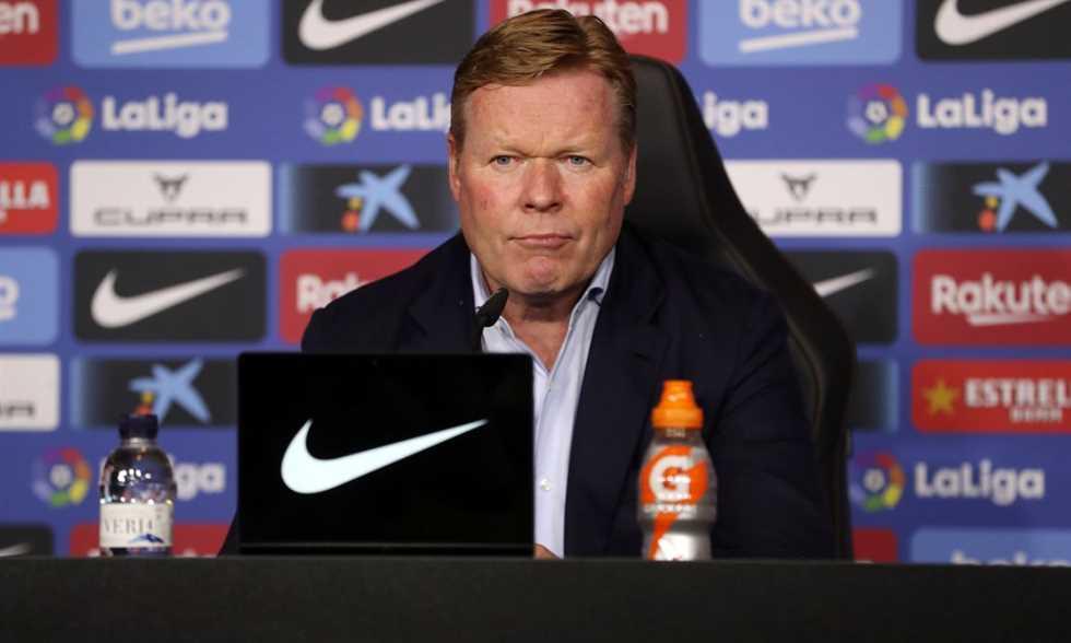 كومان: لن أجيب أي سؤال عن مستقبلي.. لعبنا ضد فريق يضيع الوقت