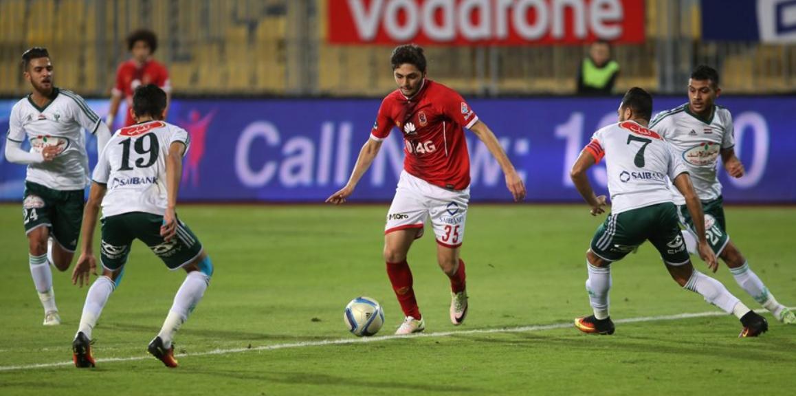 بث مباشر مباراة الأهلي والمصري